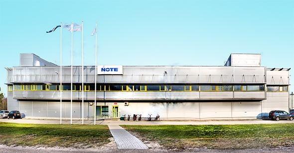 NOTE Pärnu fasad Estland