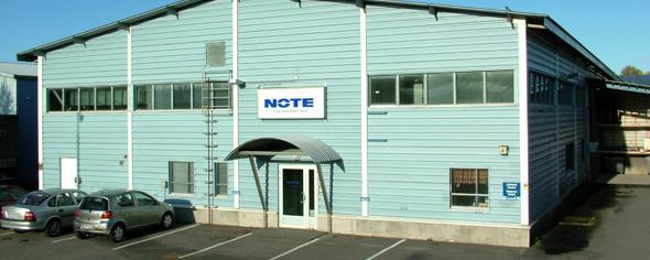 NOTE fabrik i Finland